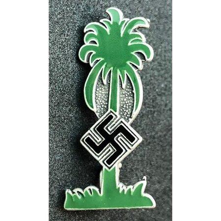 Afrika Korps badge green