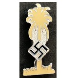 Afrika korps badge geel