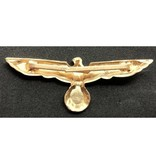 Wehrmacht adelaar pet badge goud