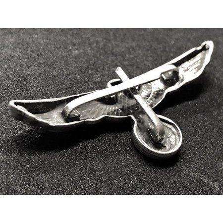 Wehrmacht adelaar pet badge zilver