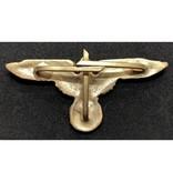 SS adelaar pet badge goud