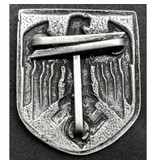 Adelaar metalen helm badge