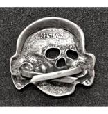 Totenkopf pet badge