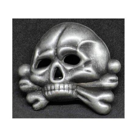 Totenkopf pet badge type 2