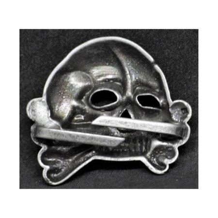 Totenkopf cap badge type 2