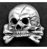 Totenkopf pet badge type 4