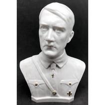 Adolf Hitler hoofd met borst buste wit