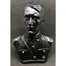 Adolf Hitler head en chest bust black