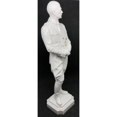 Adolf Hitler beeld wit