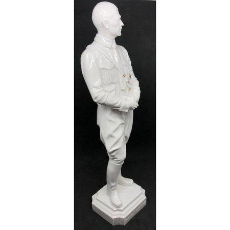 Adolf Hitler statue white