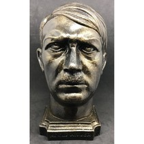 Adolf Hitler head statue bronze