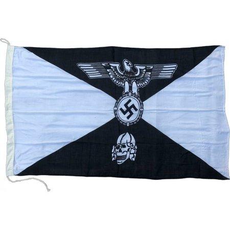 Schutzstaffel totenkopf vlag katoen