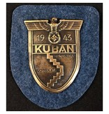 Kuban 1943 schild goud