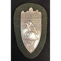 Nürnberg schild zilver