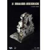 House ruin 1:6 diorama accessoire