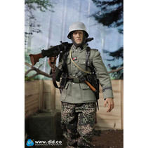 Panzer division MG42 gunner 1:6 figure