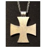 iron corss necklace