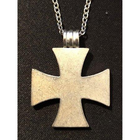 IJzeren kruis ketting