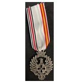 Blauwe divisie medaille