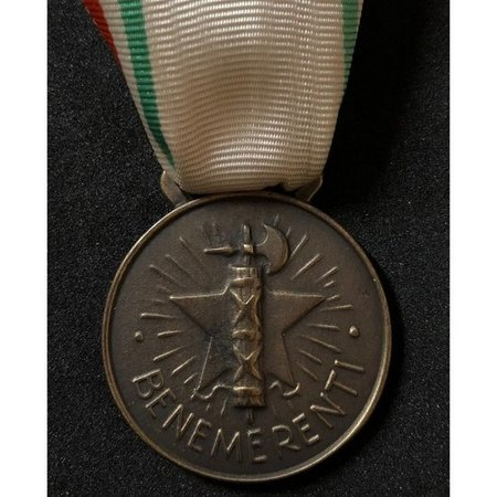 Italiaanse rode kruis medaille brons