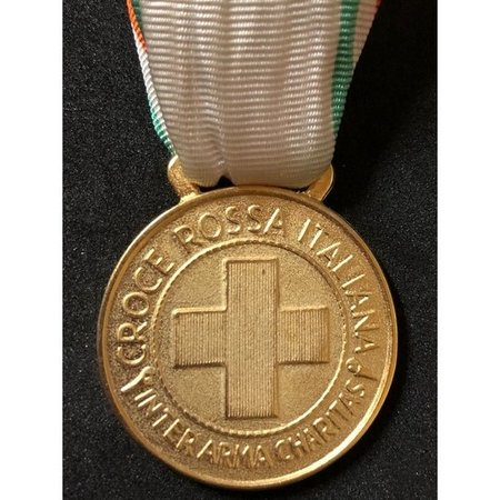 Italiaanse rode kruis medaille goud