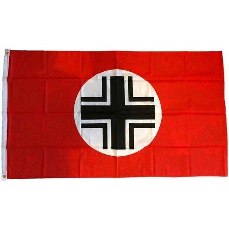 Balkenkruis vlag polyester