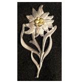 Edelweiss cap badge type 2