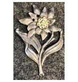 Edelweiss cap badge WW1
