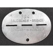 Galizische SS Brigade ID tag