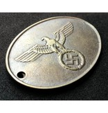Prussian police ID tag