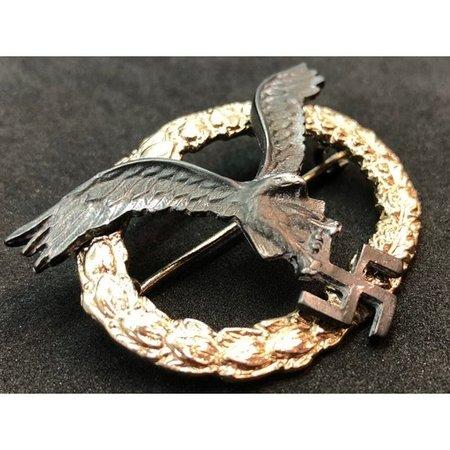 Luftwaffe piloot badge ovaal