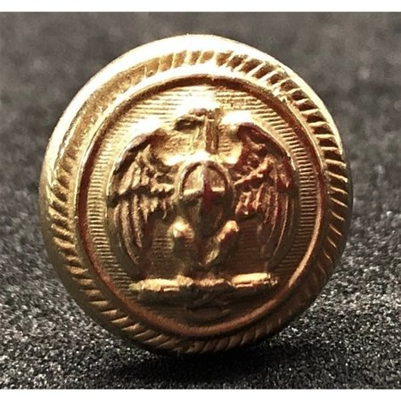 Shoulder button musketeers gold