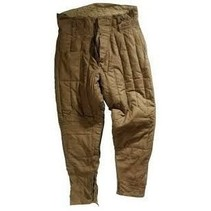 ORIGINAL red army padded trousers