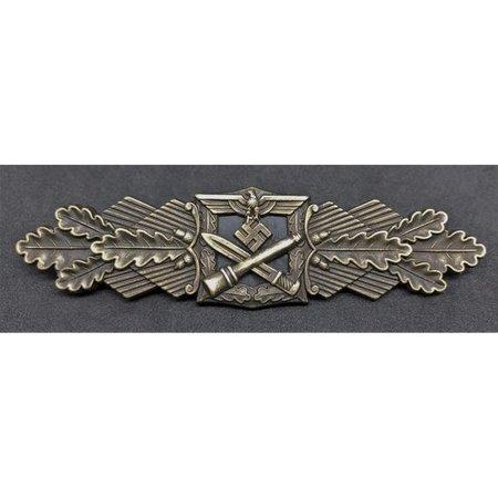 Close combat borstbadge brons