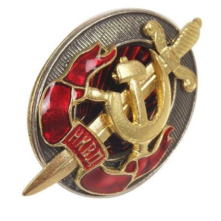 NKVD badge
