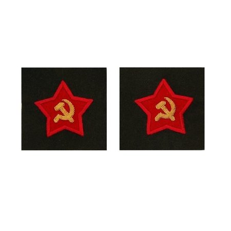 Soviet officer sleeve patches