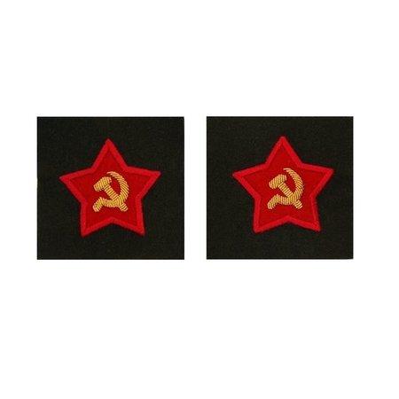 Sovjet officier mouw patches