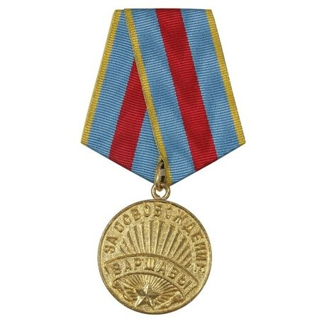 Warsaw medal