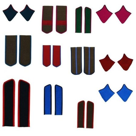 Choose Soviet shoulder boards & collar tabs