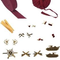 Kies Sovjet rang accessoires & emblemen