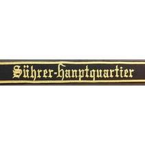 Führer-Hauptquartier cuff title