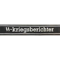 SS-Kriegsberichter cuff title