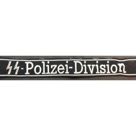 SS-Polizei-Division mouwband