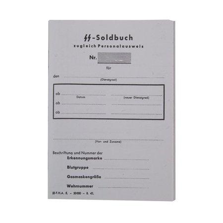 Waffen SS paybook