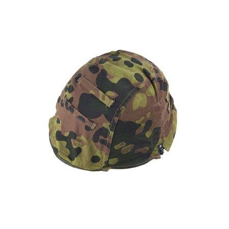Stahlhelm 2 in 1  platanentarn camouflage