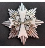 Orde van de Duitse adelaar ster broche zilver