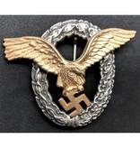 Luftwaffe piloot badge goud