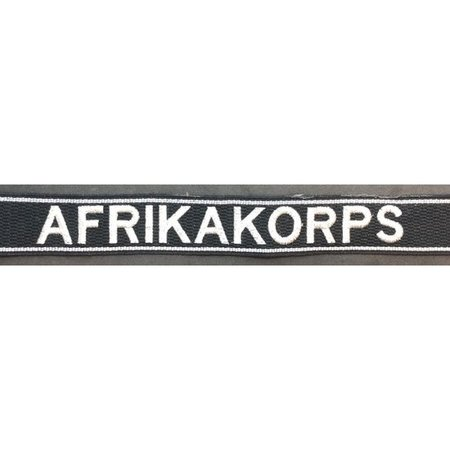 Afrikakorps cuff title type 2