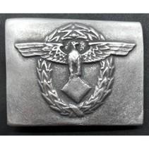 Polizei modern buckle without swastika