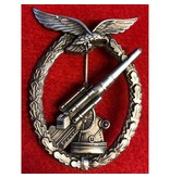 Luftwaffe Flak badge denazified